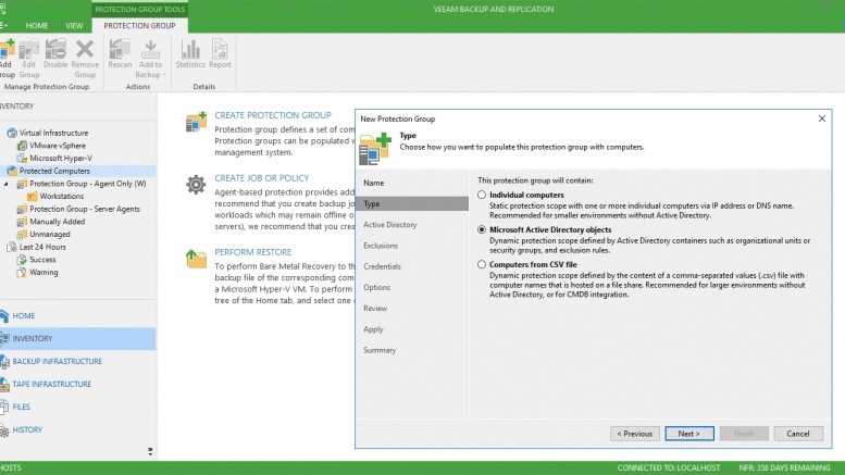 Veeam Availability Suite U3