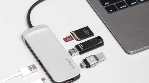 Sedminásobný USB-C hub pro MacBooky