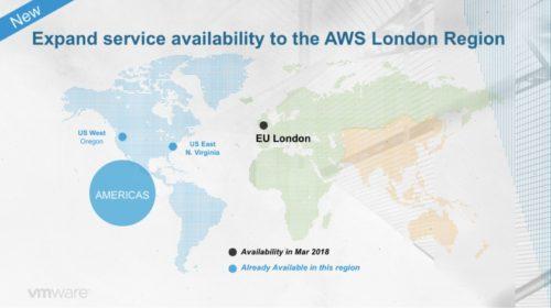 VMware a AWS přinášejí do Evropy hybridní partnerství