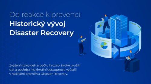 Disaster Recovery pro jakoukoliv pracovní zátěž