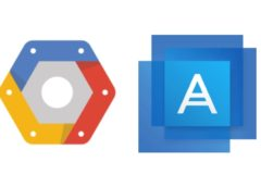 Acronis Google cloud