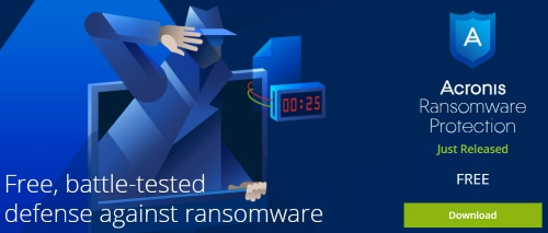 Acronis Ransomware Protection Download