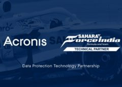 Acronis force india partnership