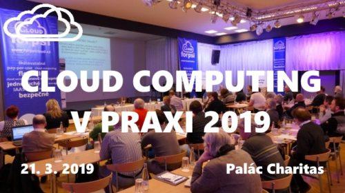 Pozvánka: Konference Cloud computing v praxi 2019