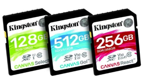 Nová série paměťových karet s názvem Canvas