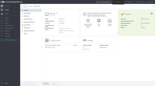 Cloud Administrator pro správu zabezpečení malých a středních firem v cloudu