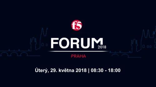 F5 Forum 2018: Cloud a bezpečnost