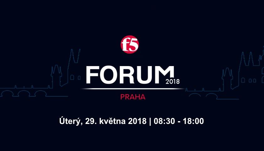 F5 Forum Praha 2018