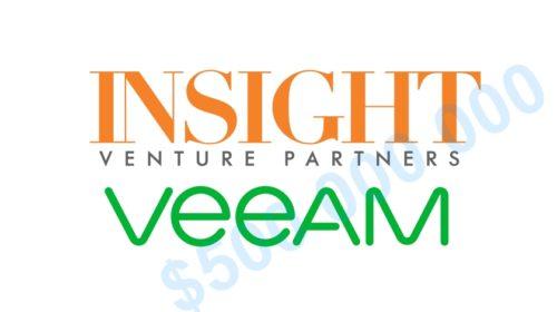 Insight Venture Partners investuje 500 milionů dolarů do společnosti Veeam