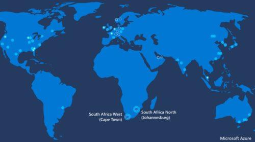 Microsoft otevírá datová centra Azure Cloud v Jihoafrické republice