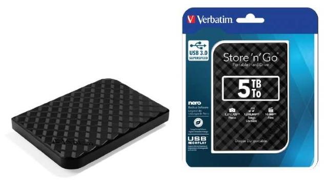 Pevný disk Store 'n' Go USB 3.0