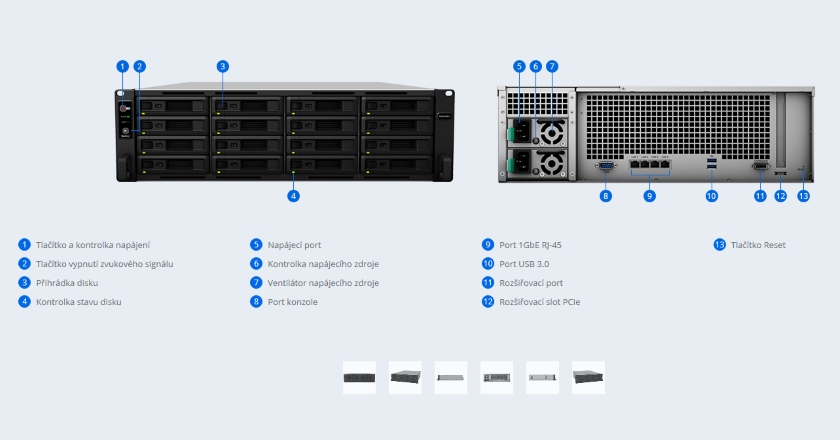 RackStation RS2818RP+ Synology Inc