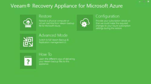 Veeam Recovery to Microsoft Azure je rychlé, snadno použitelné a cenově dostupné řešení pro zajištění kontinuity podnikání