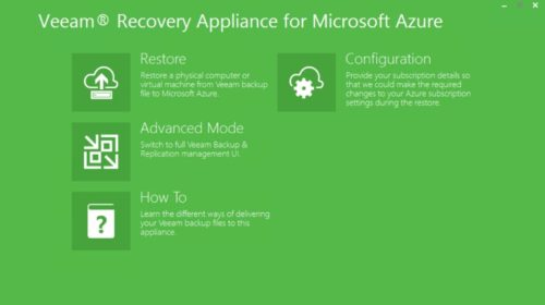 Veeam Recovery to Microsoft Azure