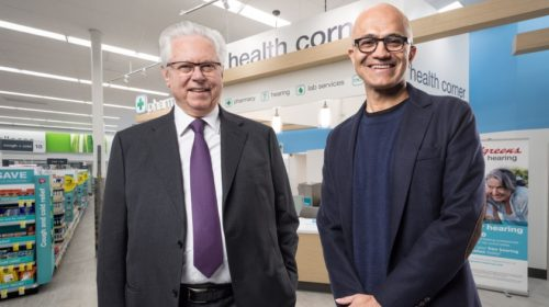 Společnost Walgreens si vybrala Microsoft jako strategického poskytovatele cloudu