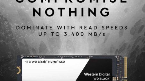 Western Digital posiluje herní komunitu rychlými SSD disky
