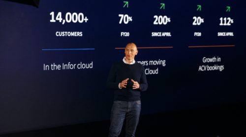 Infor hlásí 112% nárůst poptávky zákazníků po cloudových řešeních