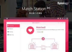 match station synology