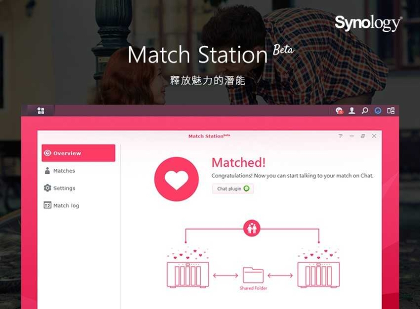 match station synology